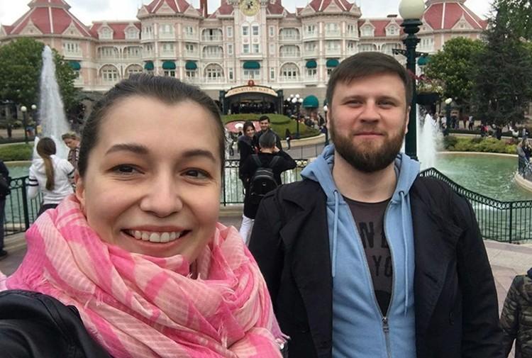 Ксения Сябитова с женихом