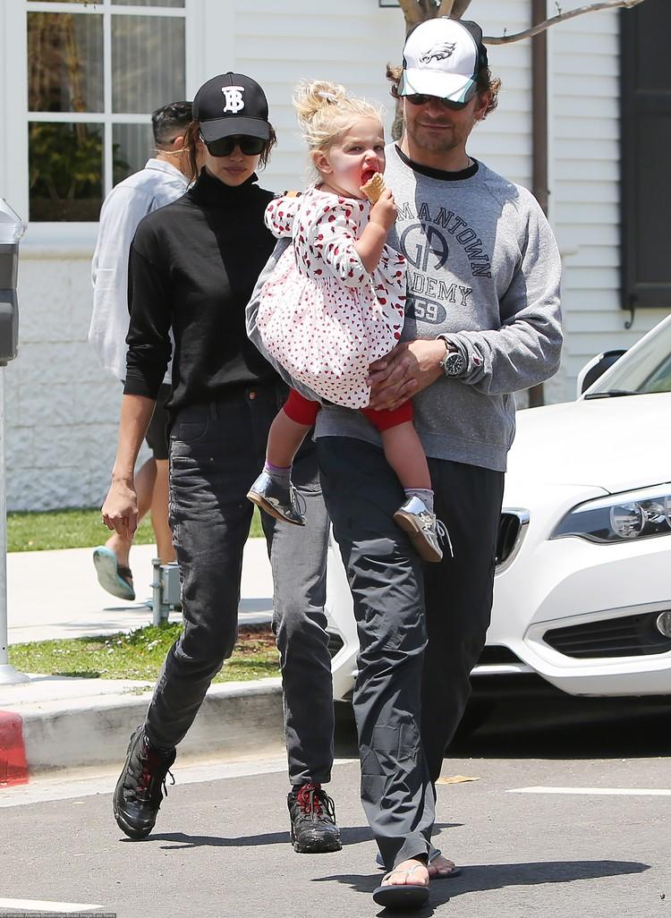 Ирина и Брэдли поняли, что вместе их держит только дочь Леа.