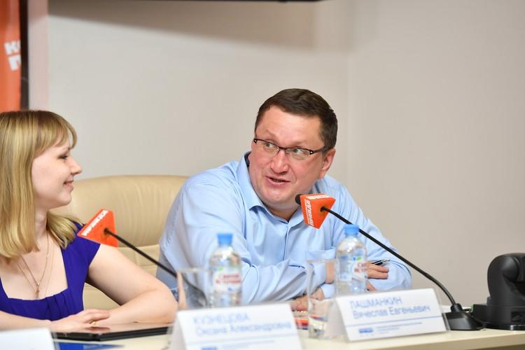Вячеслав Лашманкин, исполнительный директор Ассоциации предприятий кондитерской промышленности «АСКОНД».