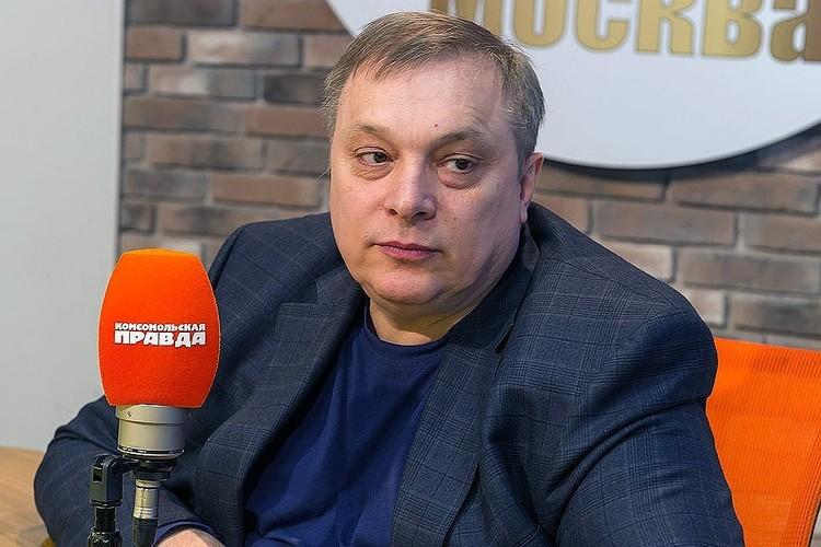 Близкий друг артиста, продюсер группы «Ласковый май» Андрей Разин