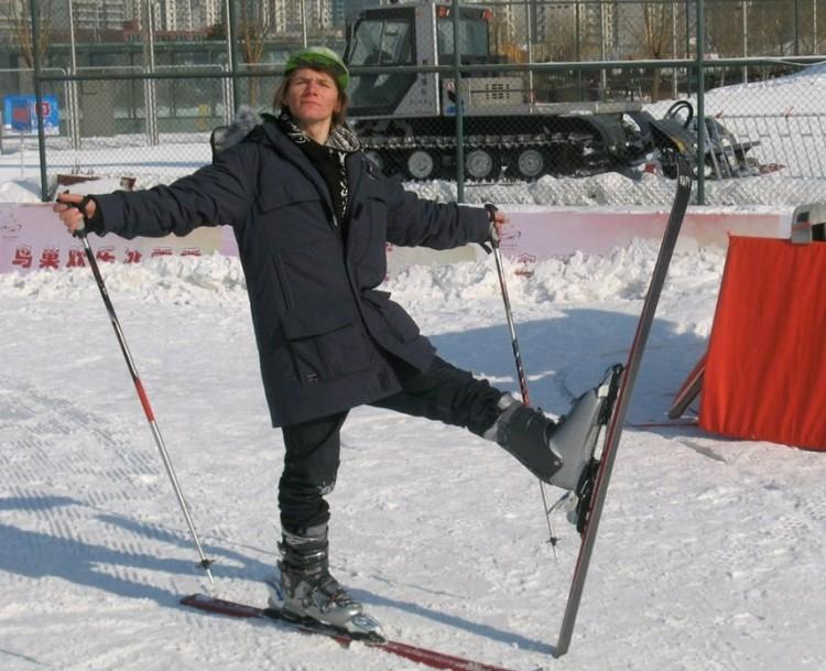 Сноубордист Дмитрий Кольцов.
