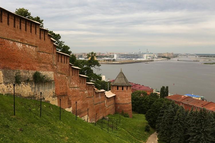 Волга - одна из главных достопримечательностей Нижнего Новгорода