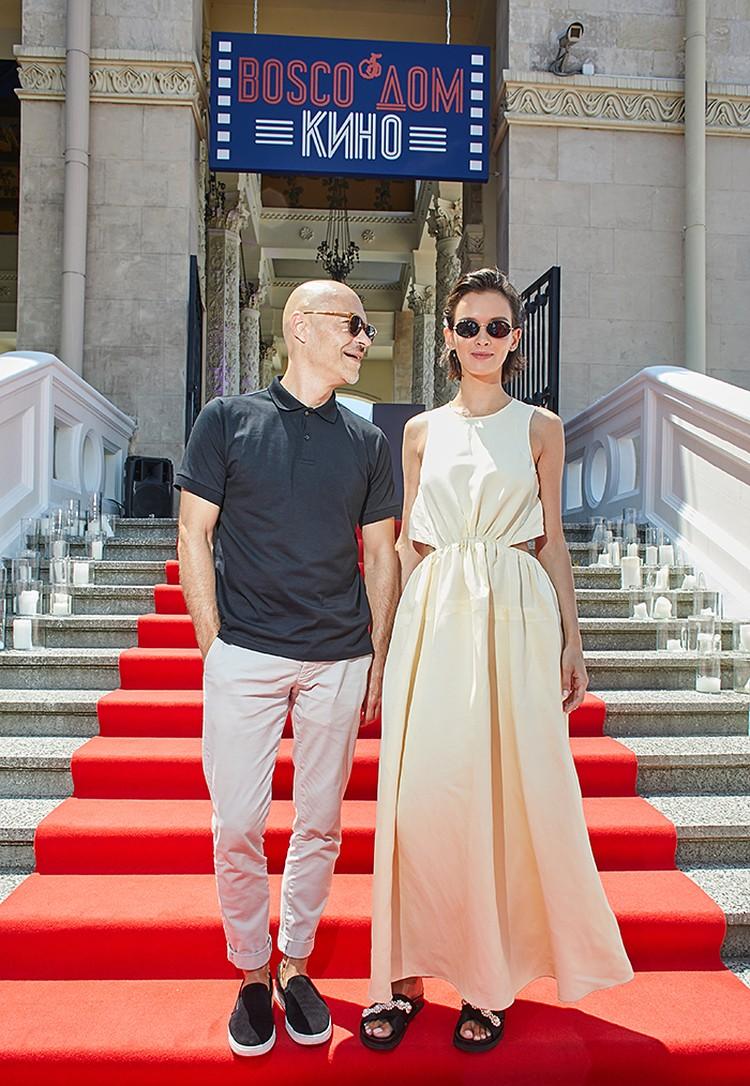 Федор Бондарчук и Паулина Андреева. Фото: Сони Пикчерс