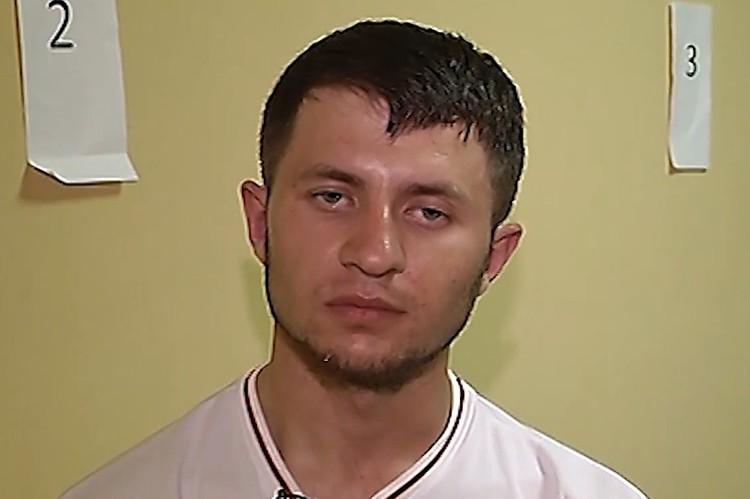 Мурат Сабанов, задержанный по делу об отравлениях в Москве. Фтот: скриншос с видео