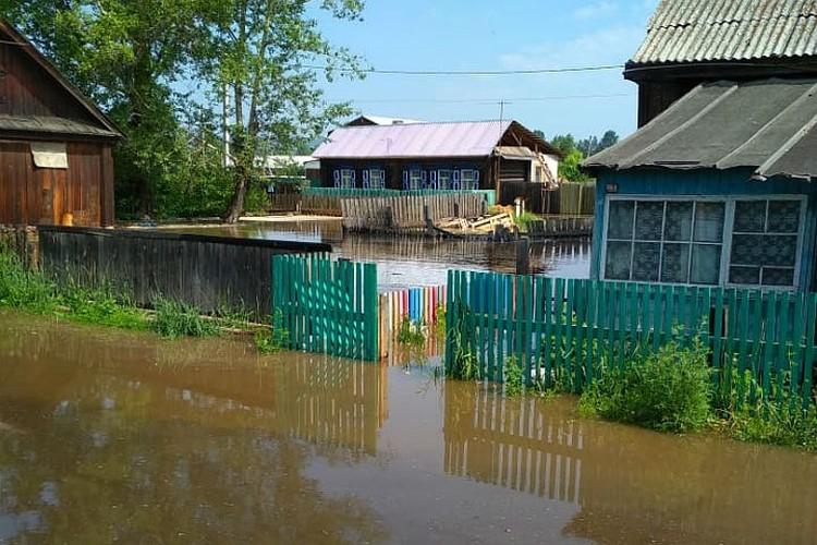 По последним данным, в Иркутской области остаются подтопленными 3296 домов в 55 населенных пунктах