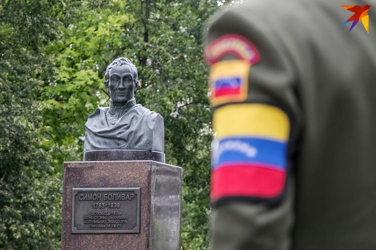 Национальный герой Венесуэлы Симон Боливар.