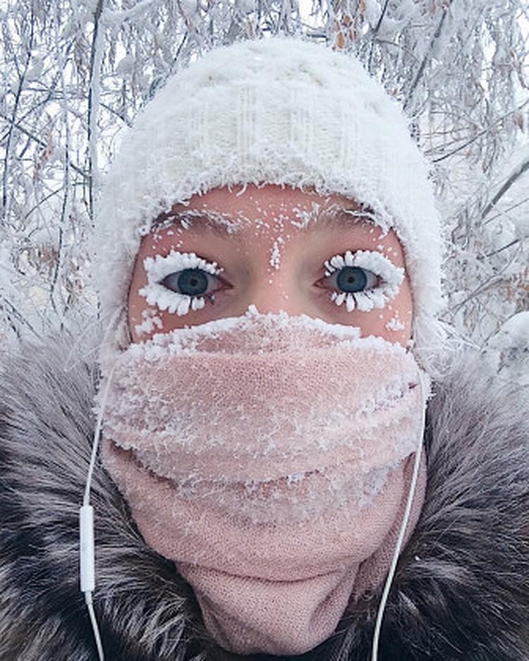 В 2018 году о Насте и ее зимнем макияже написали The Telegraph, New York Post, The Daily Mail, Washington Post, Financial Express, CNN, CTV News и другие издания.