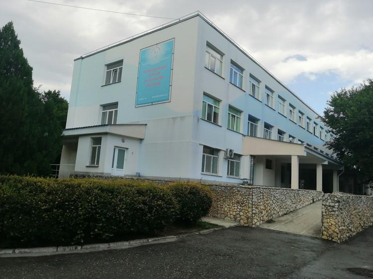 Дети и взрослые попала в крымскую больницу.