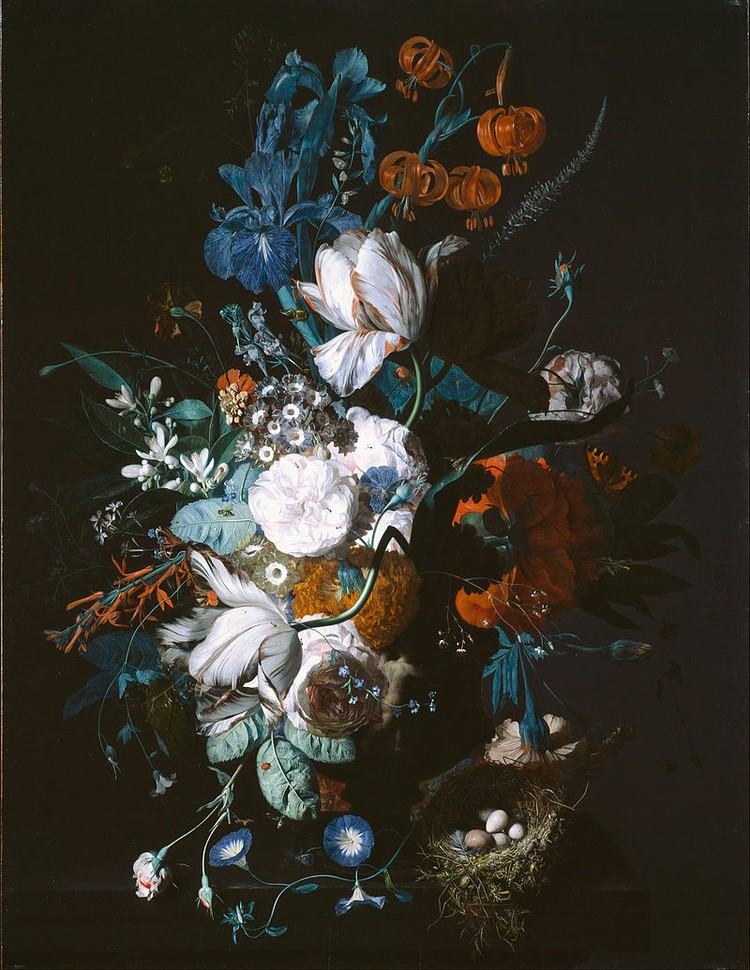 Ян ван Хейсум, «Ваза с цветами»