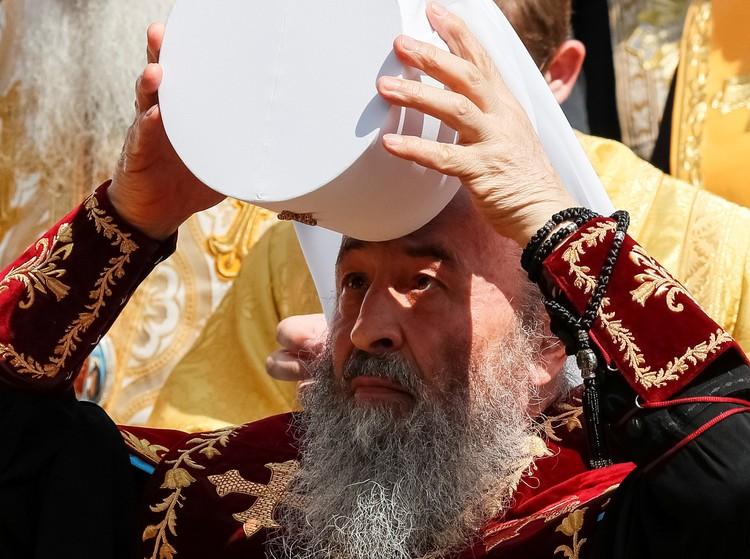 Возглавил крестный ход предстоятель УПЦ митрополит Онуфрий