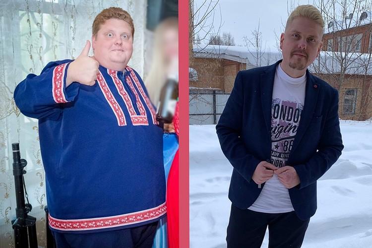 До и после. Фото предоставил Алексей
