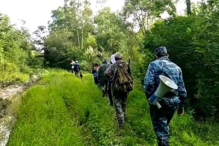 В июле в Тверской области было совершено 30 выездов в лес. Фото: ДВРПСО МЧС Росии