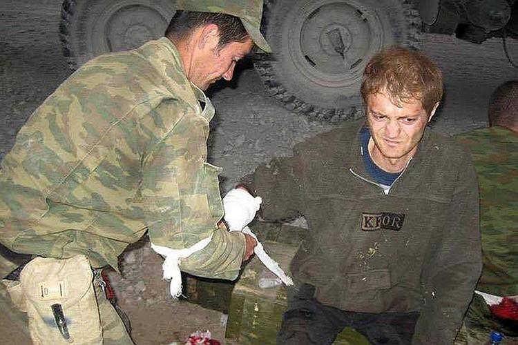 Александр Коц сам получил ранение в той пятидневной войне