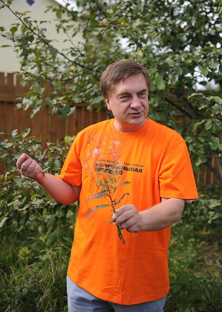 Председатель общественной организации «Садоводы России» Андрей Туманов