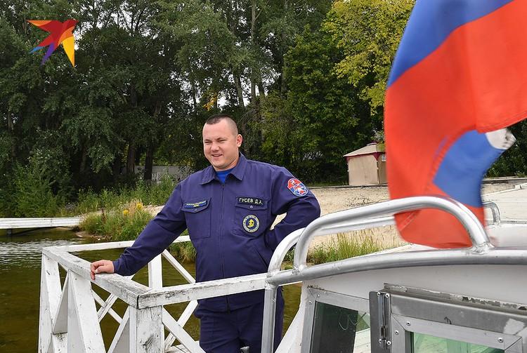 Заместитель начальника поисково-спасательного водолазного отряда ГКУ «МГПСС» Денис Гусев.