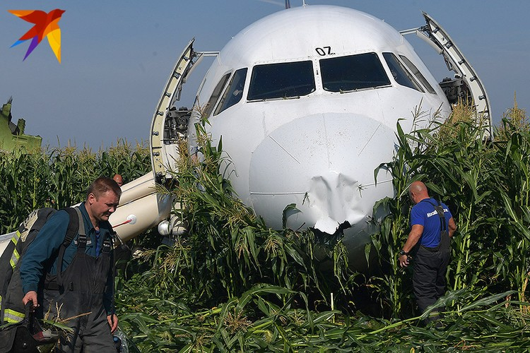 Сразу после взлёта возникла серьёзная проблема с одним из двигателей