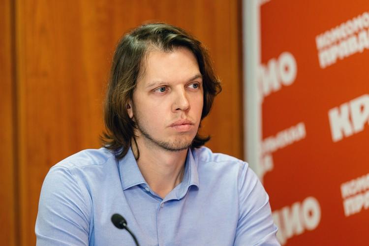 Даниил Пухленкин, руководитель ОП Челябинск ООО «Компания Металл Профиль»