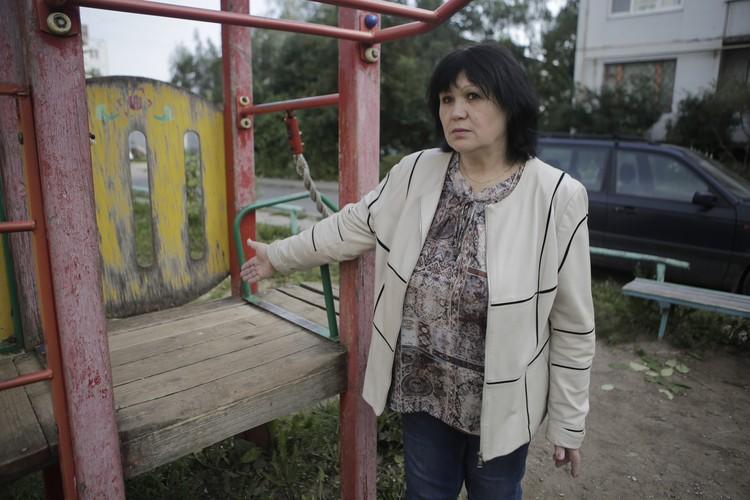 Председатель многоквартирного дома Галина Бойко пытается найти справедливость.