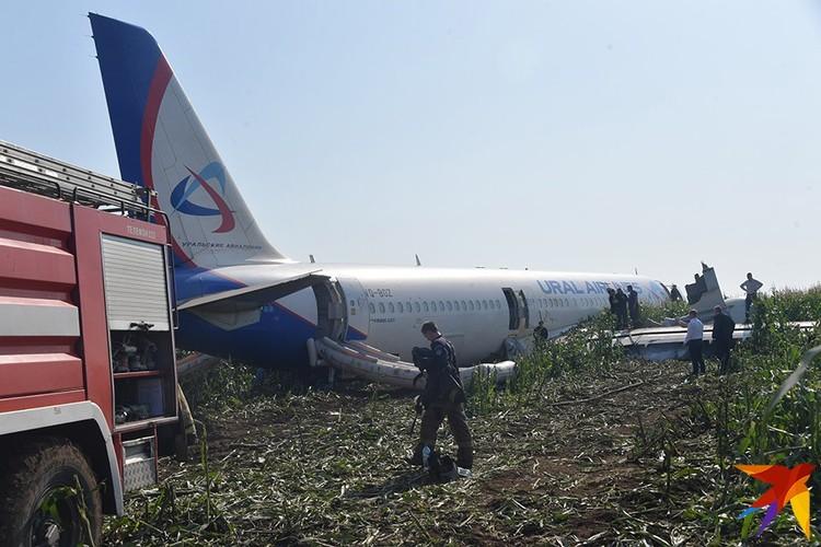 Всего на борту самолета находились 233 человека, в том числе семь членов экипажа.