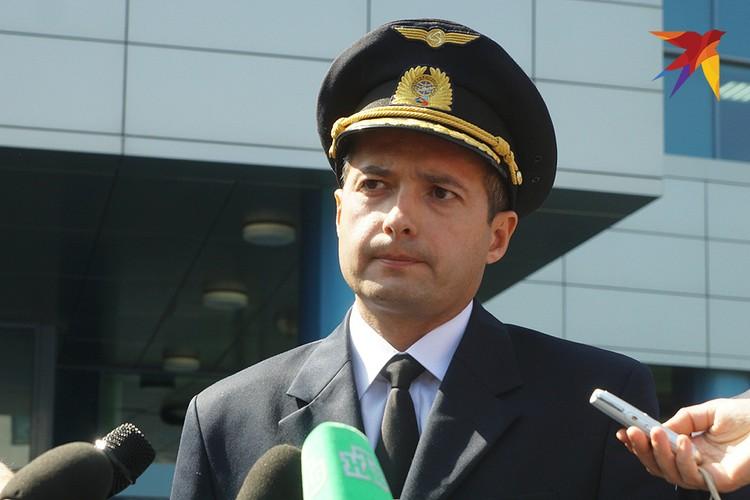 Командир воздушного судна Дамир Юсупов.