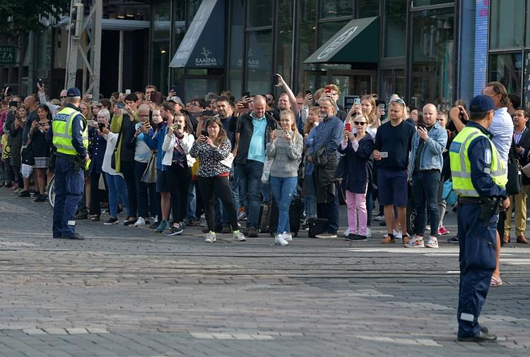 B Хельсинки были введены неожиданно строгие меры безопасности