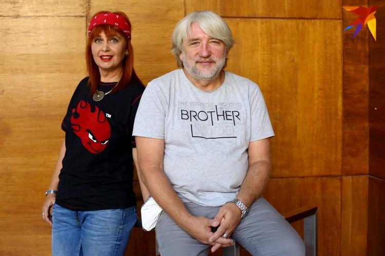 Анатоль и Оксана Вечер уже четверть века снимают программы, связанные с белорусской музыкой.