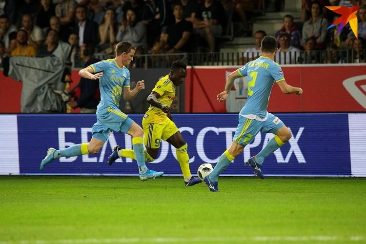 На 57-ой минуте матча Антона Сороку заменил Эрвейн Мукам