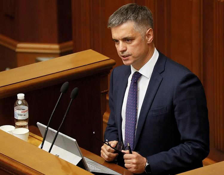 Новый глава МИД Украины Вадим Пристайко.