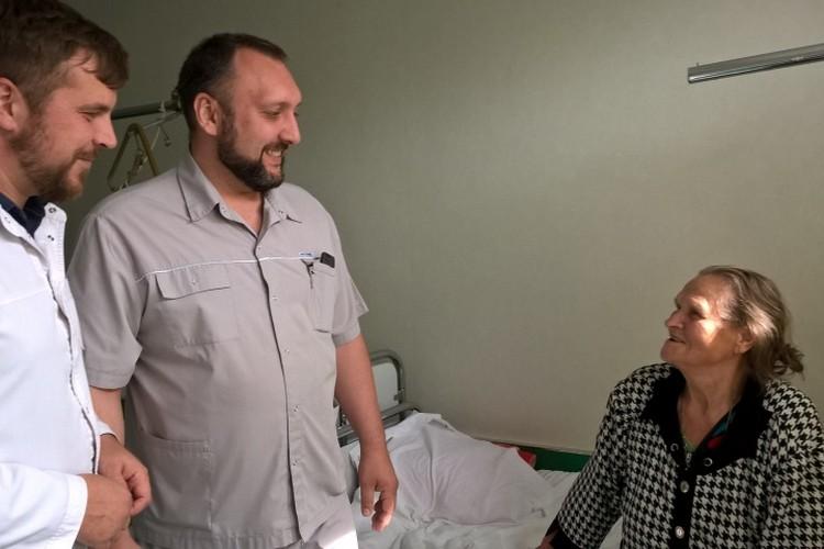 Фелицию Григорьевну Семахина благодарна медикам за помощь.