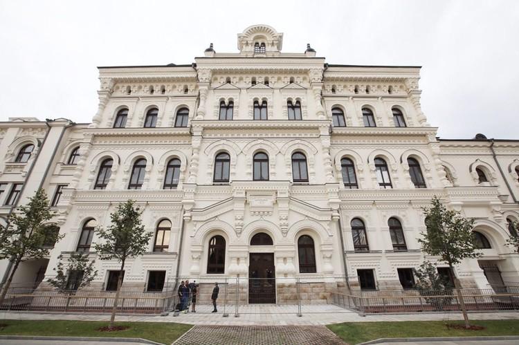 Северный фасад исторического здания Политехнического музея. Фото: ДОМ.РФ