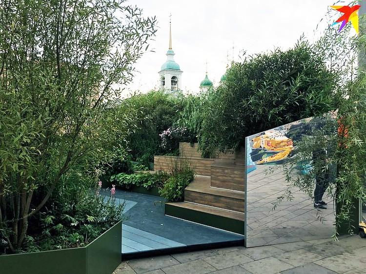 Сейчас в центре каменной Москвы сады - чуть ли не чудо