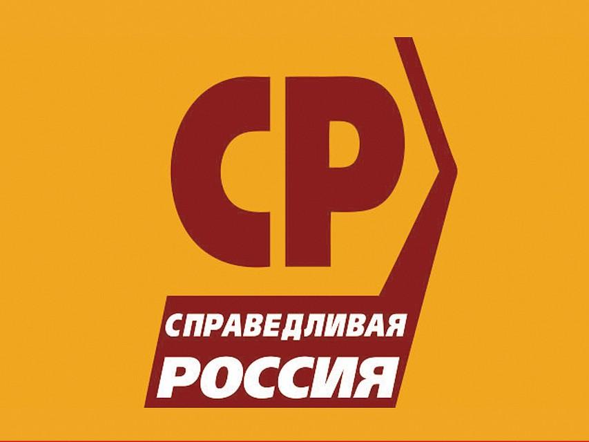 справедливая россия логотип фото формирования первого ряда