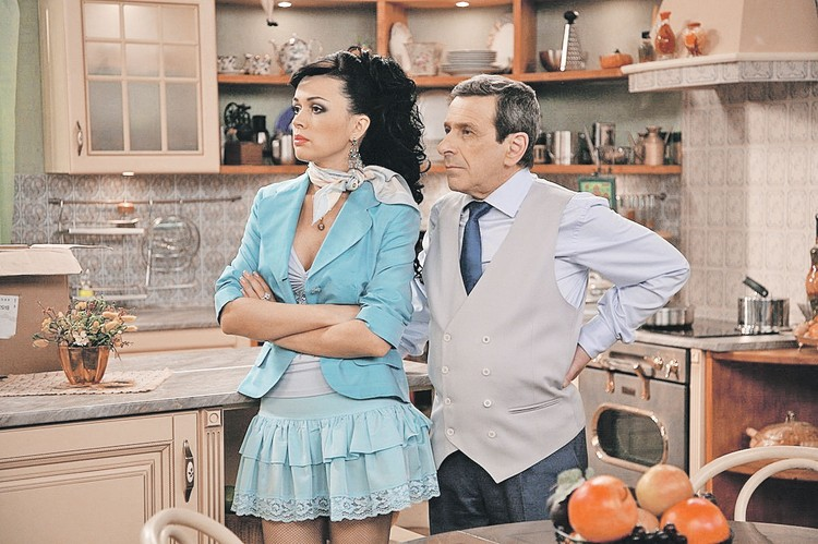 Актриса стала известна благодаря сериалу «Моя прекрасная няня». Она сыграла уроженку Мариуполя, пытающуюся найти счастье в Москве. Фото: Кадр из фильма