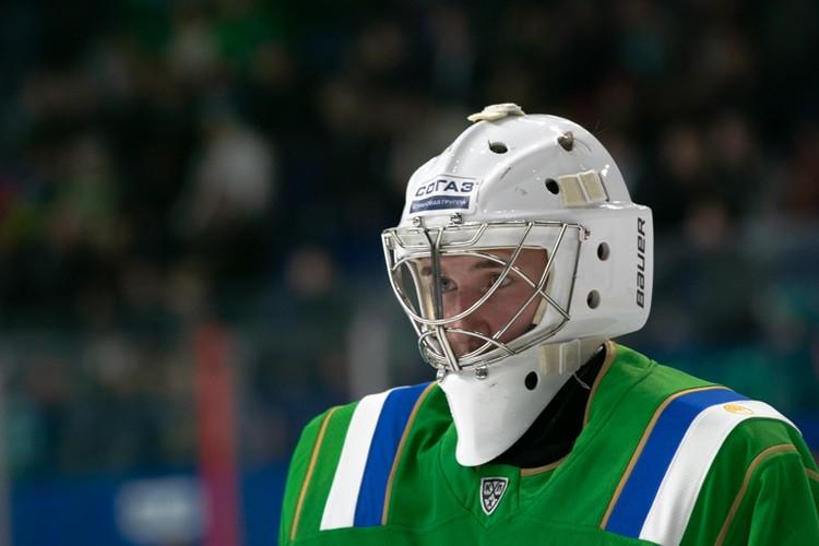 Первые два периода ворота «Салавата Юлаева» защищал Андрей Кареев