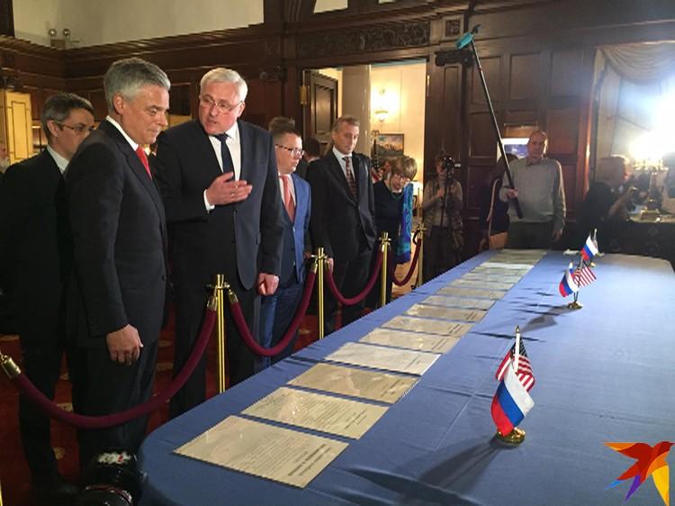 Посол Джон Хантсман сделал прощальный подарок перед своей отставкой