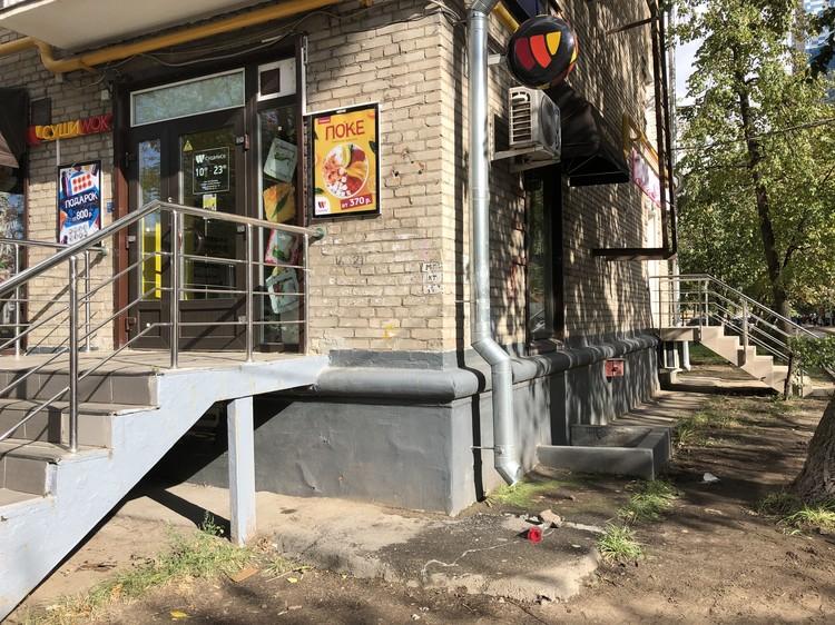 Место гибели Максима Веялко