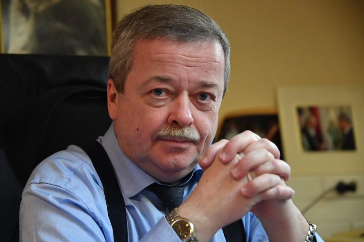 Советник директора ФСО России, доктор исторических наук, профессор Сергей Девятов