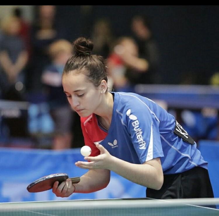 Неделю назад Эрика Кварчия взяла золото на Всероссийском Сочинском турнире по настольному теннису
