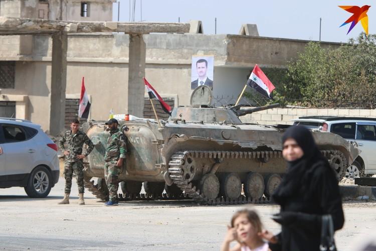 Россия спасла дружественный режим Асада