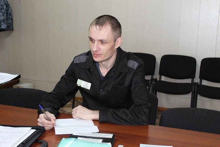 Евгений провел в колонии уже несколько лет. Фото: пресс-служба ОНК по Челябинской области