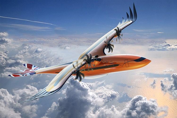 Airbus только что показал концепт самолета-птицы