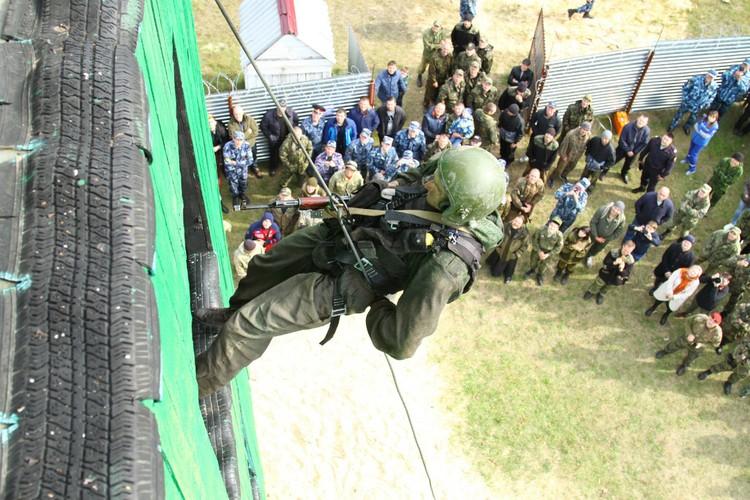 От бойцов требовали точности исполнения и скорости. Ошибок не допускалось. Фото: УФСИН России по Республике Мордовия