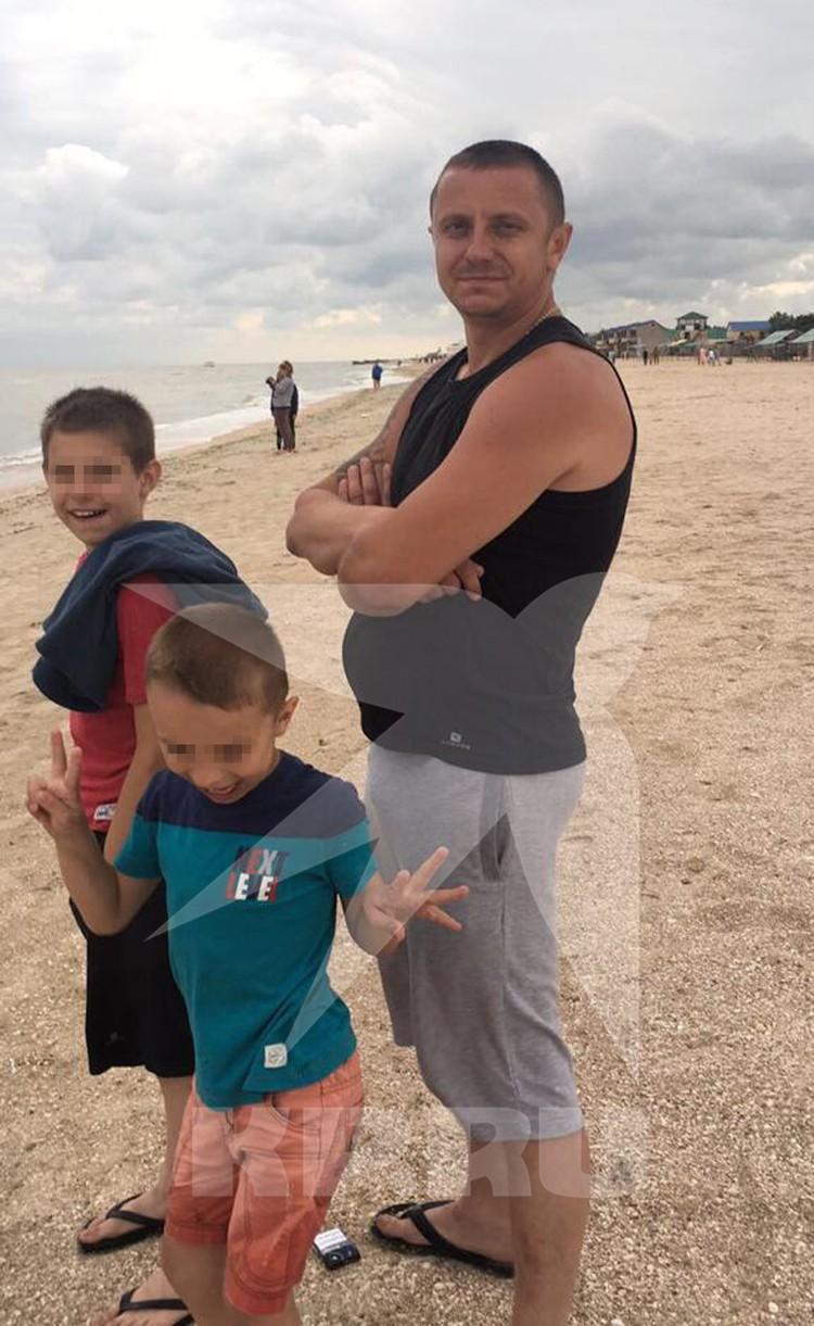 Александр с детьми