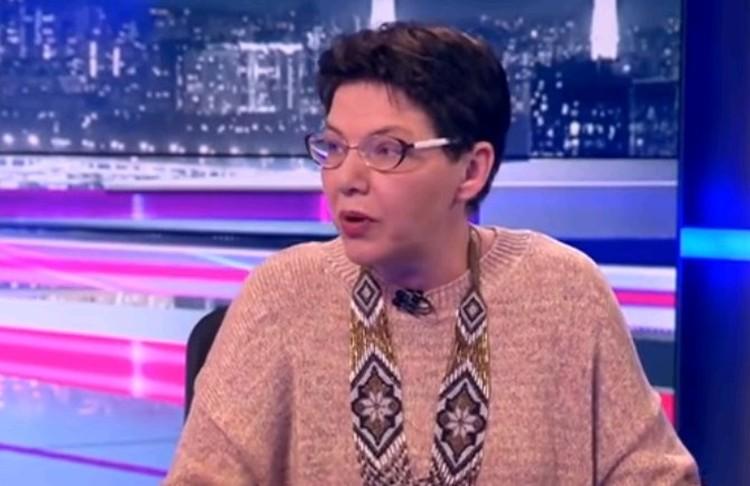 Сопредседатель Движения за права курильщиков Ольга Беклемищева.