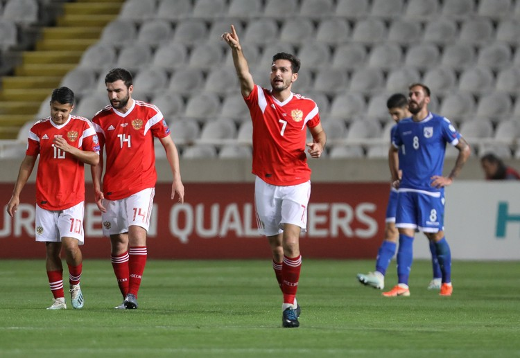 Магомед Оздоев - забил второй мяч в матче.