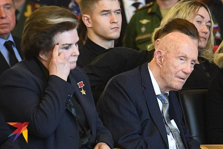 Валентина Терешкова и Томас Стаффорд.