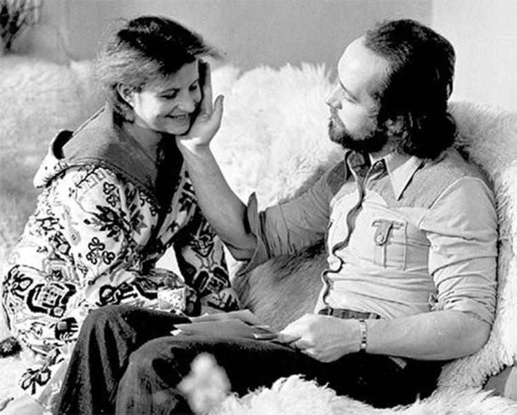 Со второй женой знаменитой гимнасткой Ольгой Корбут. Фото: личный архив