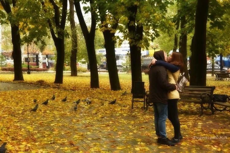 Осенняя романтика, опять же. Фото: Евгении Карпачевой