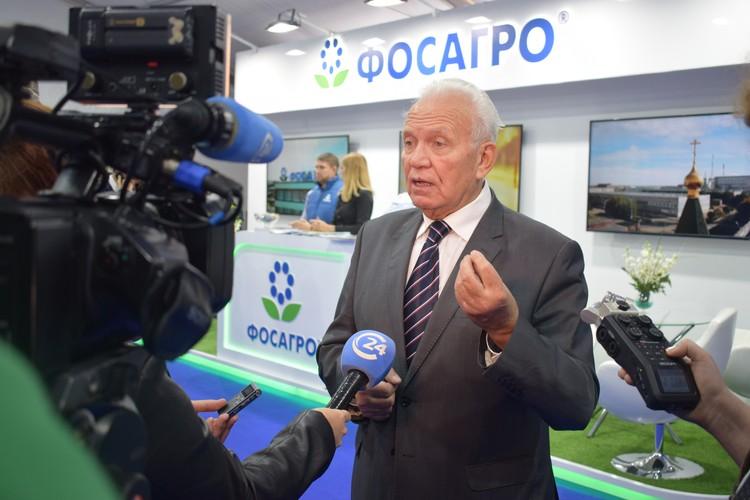Заместитель генерального директора ПАО «ФосАгро» по связям с государственными органами Валерий Фёдоров