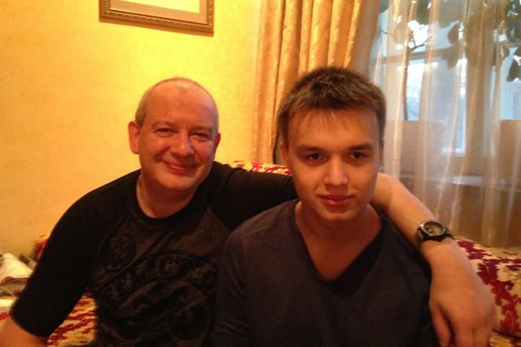Дмитрий Марьянов c сыном